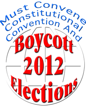 Boycott the Election